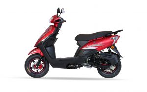 Skooty 110cc - Matte Red