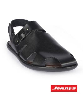 Men's Leather Sandal With Belt - 9213101
