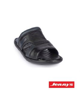 Men's Leather Sandal Black - 9914101