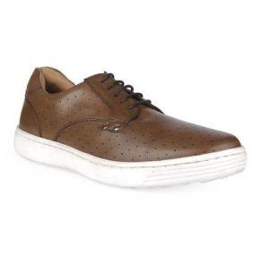 Men's Leather Pump Shoe - 9601102