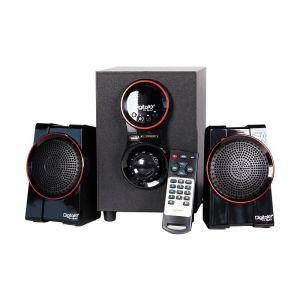Digital X X-L255BT 2:1 Bluetooth Black Speaker