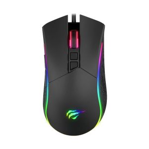 Havit MS1001 RGB Backlit Black Wired Gaming Mouse