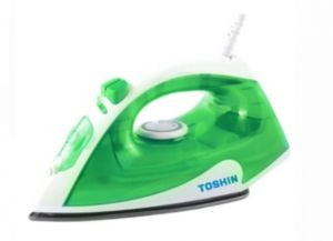 TOSHIN GREEN STEAM IRON
