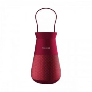 Microlab Lighthouse True Wireless Portable Red Speaker And Lantern