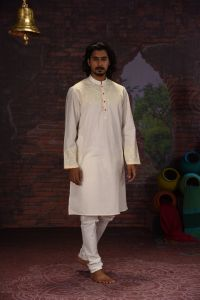 MEN'S COTTON PANJABI - PNJ-CT-LG-588