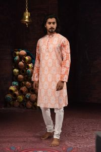 MEN'S COTTON PANJABI - PNJ-CT-LG-590