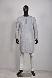 MEN'S COTTON PANJABI - PNJ-CT-LG-654