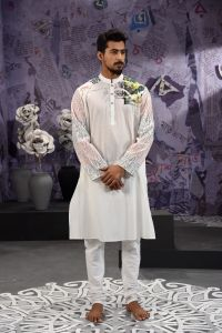 MEN'S COTTON PANJABI - PNJ-CT-LG-664