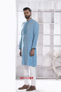 MEN'S COTTON PANJABI - PNJ-CT-LG-824