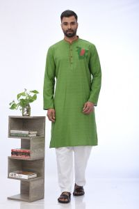 MEN'S COTTON PANJABI - PNJ-CT-LG-858