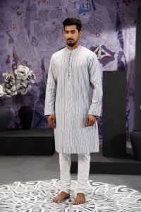 MEN'S COTTON PANJABI - PNJ-CT-SF-637