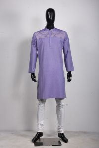 MEN'S COTTON PANJABI - PNJ-EA-LG-144