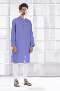 MEN'S COTTON PANJABI - PNJ-EA-LG-159