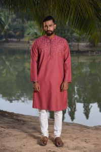 MEN'S COTTON PANJABI - PNJ-EA-LG-161