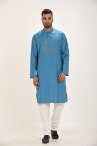 MEN'S COTTON PANJABI - PNJ-EA-LG-163