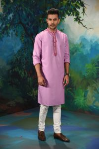 MEN'S COTTON PANJABI - PNJ-EA-LG-168