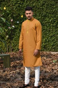 MEN'S COTTON PANJABI - PNJ-EA-LG-171