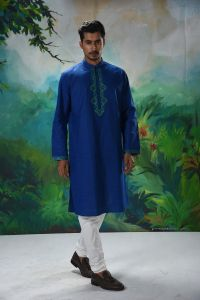 MEN'S COTTON PANJABI - PNJ-EN-LG-175