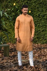MEN'S COTTON PANJABI - PNJ-VL-LG-819