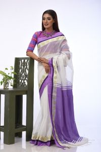 WOMEN'S  HALF SILK SAREE -  RSARI-HSL-MT-32