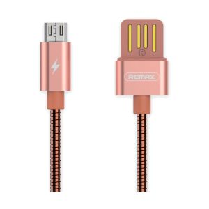 Remax USB Male to Type-C, 1 Meter, Gold Data Cable # RC-080a