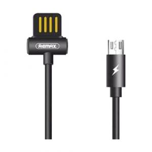 Remax USB Male to Lightning, 1 Meter, Black Data Cable # RC-082i
