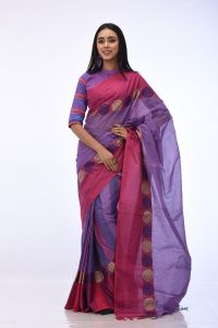 WOMEN'S COTTON SAREE - RSARI-CT-MT-36