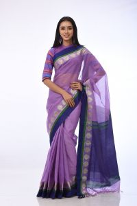 WOMEN'S HALF SILK SAREE - RSARI-HSL-MT-31