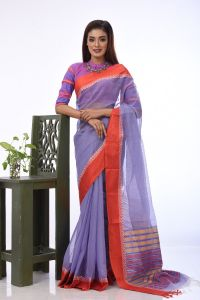 WOMEN'S HALF SILK SAREE - RSARI-HSL-MT-33