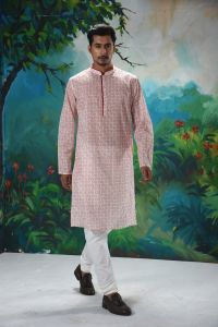 MEN'S COTTON PANJABI - YM-PNJ-229