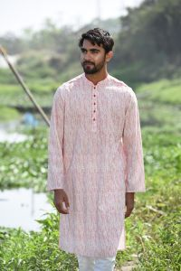 MEN'S COTTON PANJABI - YM-PNJ-232